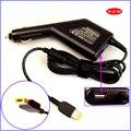 20 V 4.5A 90 W Laptop Carregador de Carro DC Adaptador + USB (5 V 2A) para lenovo/thinkpad x1 helix yoga 11 s 13 g500 g405 g500s