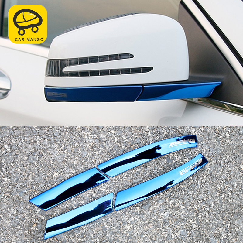 Gelinsi pour Mercedes benz Une classe GLA CLA w176 auto miroir arrière garniture accessoires