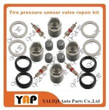 New TPMS System Tyre Pressure Sensor Valve Repair Kit 4PCS FOR FIT 5 7L 4 6L