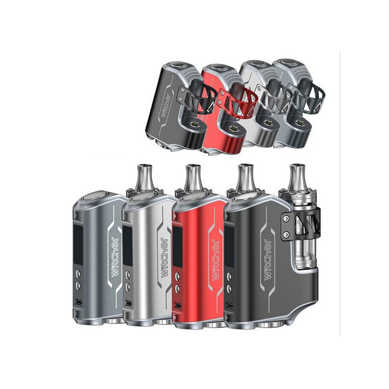 Vapor Electronic cigaratte Rofvape Witcher Box Mod 75W TC Kit with atomizer airflow vaporizer VS evic vtwo min istick pico Mega voopoo drag 157w tc box mod