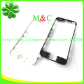 100pcs Front Frame Bezel Chassis with hot glue LCD Middle Holder For iPhone 4S 4G Bezel Tracking