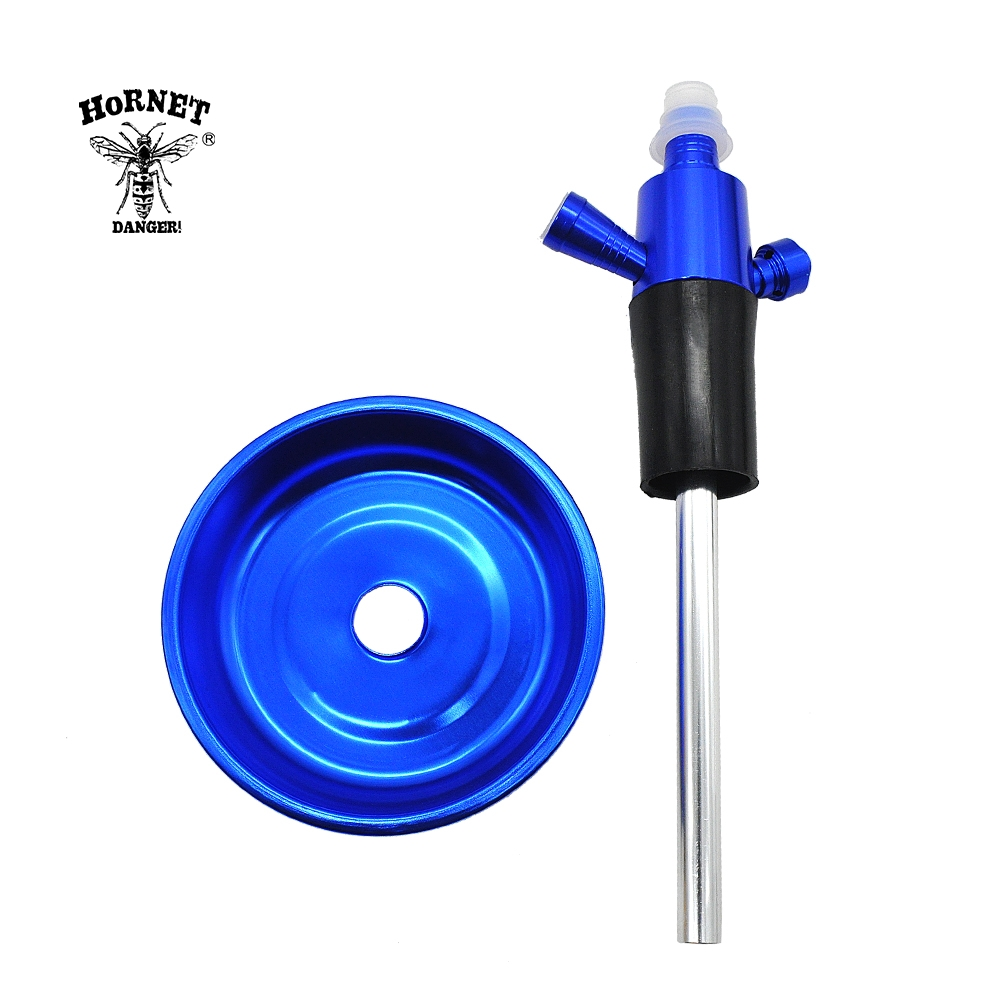 Image 3 - Aluminun Shisha Narguile Top Hookah Stem for Wine Bottle ChiCha Hookah Kit Adapter Suit For Most Of Bottle Shisha Accessories-in Shisha Pipes & Accessories from Home & Garden