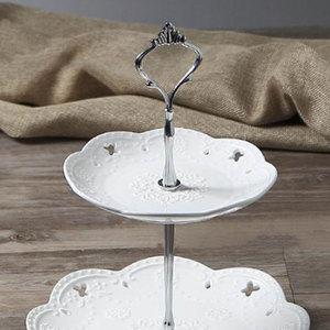 Image 2 - Support assiette à gâteau couronne 2/3 couches