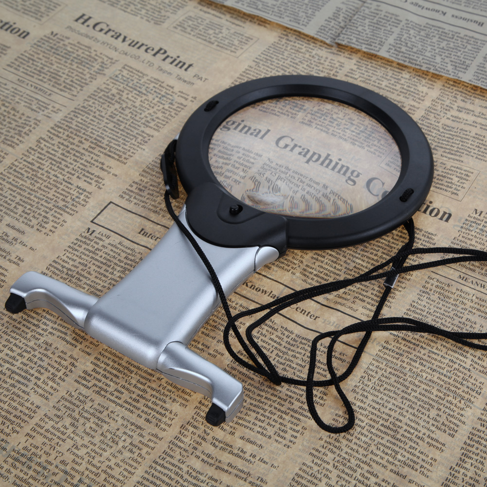 2,5X100 mm-es LED-es nagyító nagyító mini zseb mikroszkóp - Mérőműszerek - Fénykép 4
