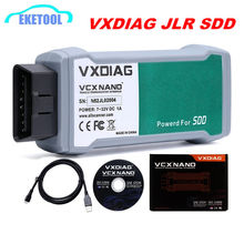 High Performance VXDIAG VCX NANO For Land Rover For Jaguar 2 IN 1 Software JLR SDD V154 Professional Auto Diagnostic Scanner(China)