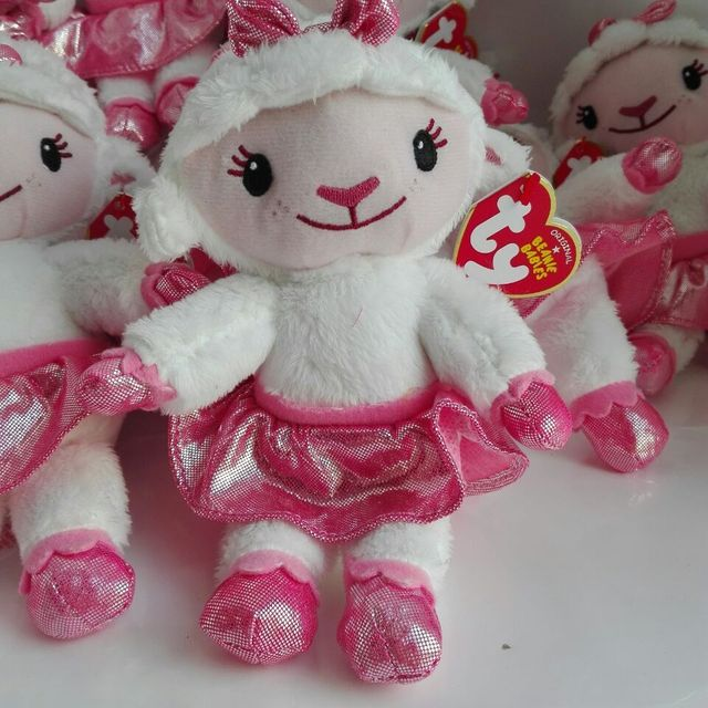 970801021d1 Preço de atacado 20 Pçs lote 18 CM Lambie ovelha cordeiro Doc McStuffins  médico TY