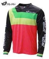 FLY FISH RACING GP Prisma Mens MX Offroad Jersey Flo Pink MTB bicycle shirt DH MX MTB ATV all mountain cycling shirt