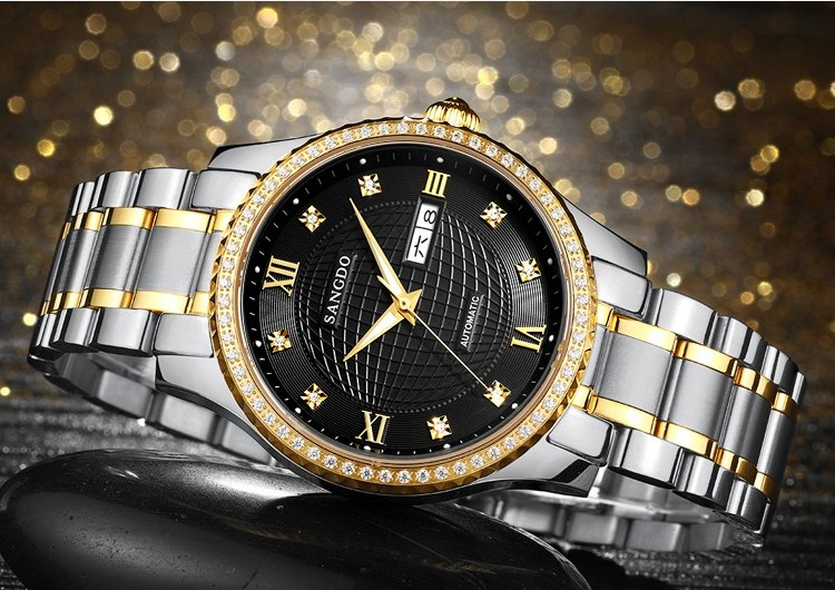 40mm Sangdo Luxury watches Automatic Self-Wind movement Sapphire Crystal High quality 2017 new fashion Men's watch 55A 40mm sangdo business watch automatic self wind movement sapphire crystal high quality 2016 new fashion men s watch 0002