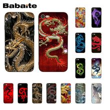 Babaite Chinese style Dragon Phone Case for iphone 11 Pro 11Pro Max X XS MAX 6 6s 7 7plus 8 8Plus 5 5S SE XR