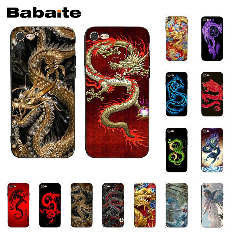 Babaite Chinese style Dragon Phone Case for iphone 11 Pro 11Pro Max X XS MAX 6 6s 7 7plus 8 8Plus 5 5S SE XR image