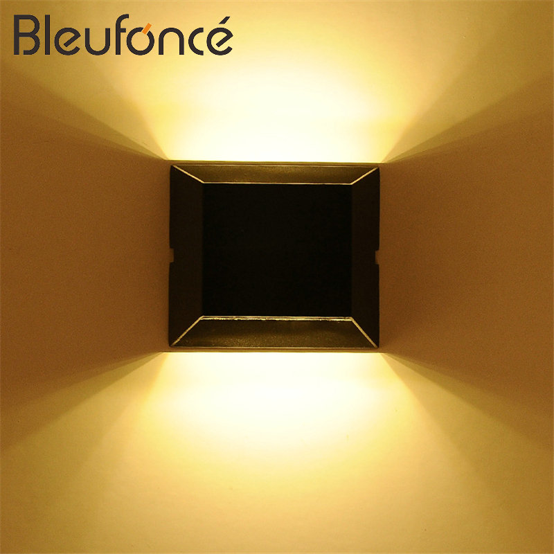 Outdoor Waterproof LED Wall Lamp 5W/10W LED AC85-265V Light Lighting Garden Lights Modern Wall Sconce Outdoor Wall Lamps BL63