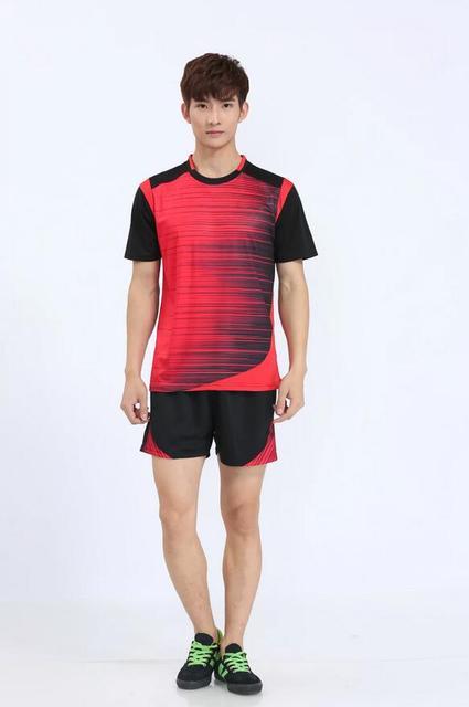 Mens Football Jerseys Shirt Boys Soccer Training Shirts Jerseys Teens Breathable Custom Football Jerseys Sports Wears M-3XL