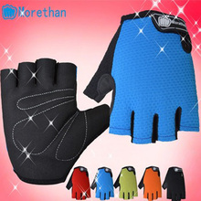 Cheap price high quality men's breathable cycling gloves with Free shipping