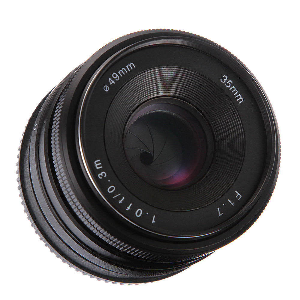 35mm f/1.7 APS-C Manual Focus Prime Fixed Lens for FujiFilm Fuji-X FX XF XA1 XA2 XE1 XE2 S XT3 XH135mm f/1.7 APS-C Manual Focus Prime Fixed Lens for FujiFilm Fuji-X FX XF XA1 XA2 XE1 XE2 S XT3 XH1