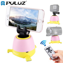 PULUZ Panoramic Head For iPhone Electronic 360 Degree RotationRemote Controller+Ballhead Smartphone/GoPro/DSLR Cameras