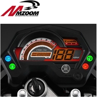 Motorcycle Tachometer Fz16 Speedometer New Abs Lcd Panel With Light Case For Yamaha Fz16