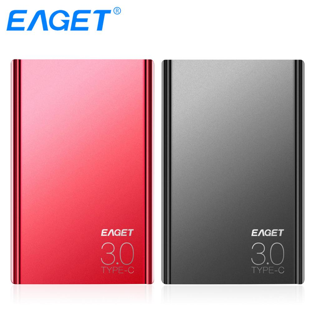 EAGET G70 External Hard Drives 1TB HDD 2.5 inch High Speed Type C 3.0 Hard Disk Ultra-thin USB C Mobile HDD for Laptops Desktop eaget external hard drive 1tb hdd type c 3 0 externo disco storage devices laptop 2 5 ultra thin high speed 3 1 hard disk 1tb