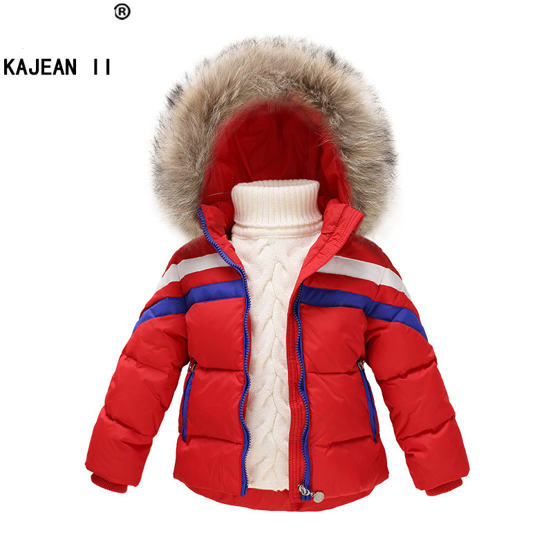 Winter Children Girls Boys Jackets Brand Hooded Kids Baby Boys Girls Clothing Outerwear For 1-7 Years Warm Boys Down Coats girls jackets and coats 2018 new brand outdoor baby windbreaker coats kids warm capes children winter outerwear girls clothing