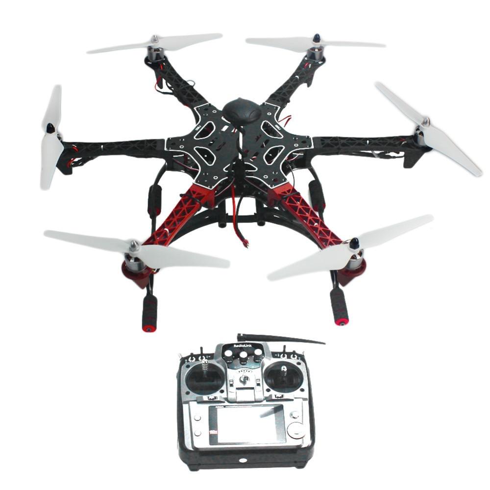 6-Axis RC Aircraft Hexacopter ARF Dellelicottero Drone con AT10 TX/RX 550 Telaio GPS con AT10 TX /RX 550 Cornice Nessuna Batteria F05114-AR6-Axis RC Aircraft Hexacopter ARF Dellelicottero Drone con AT10 TX/RX 550 Telaio GPS con AT10 TX /RX 550 Cornice Nessuna Batteria F05114-AR