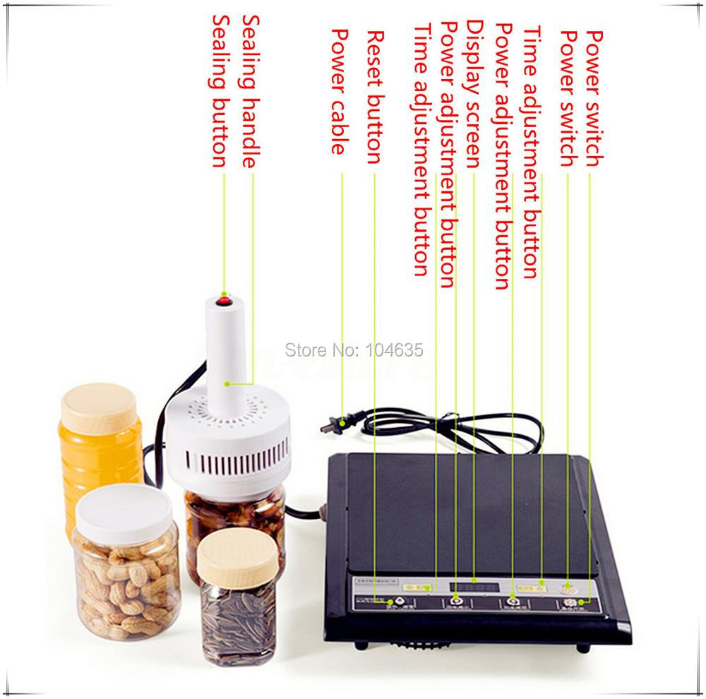 110V Manual electromagnetic induction sealer machine ,aluminium foil induction sealing machine (seal size:20-100mm)