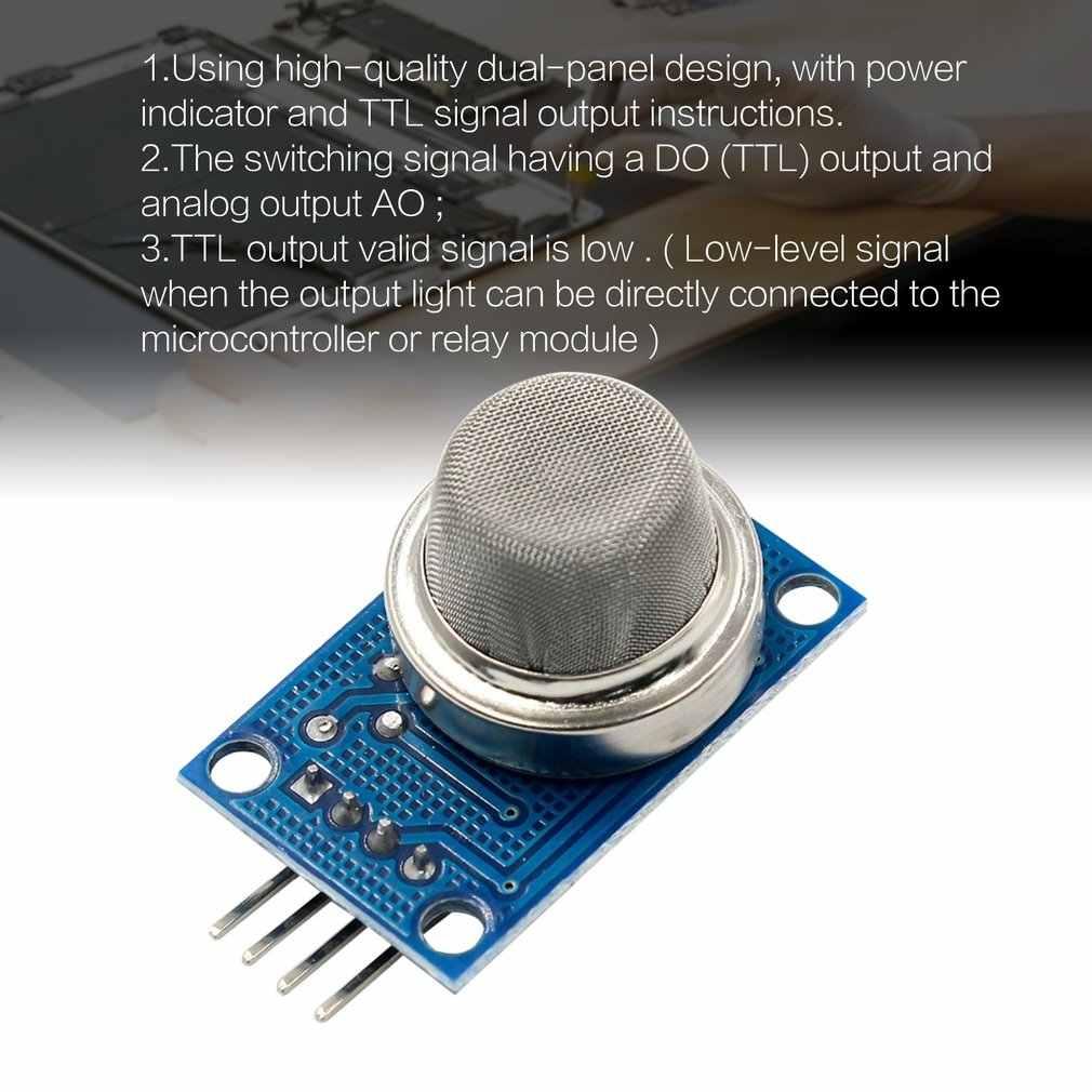 MQ-2 détecteur de gaz de fumée LPG Module de détecteur d'hydrogène Butane pour système d'alarme incendie détection de méthane inflammable au Propane
