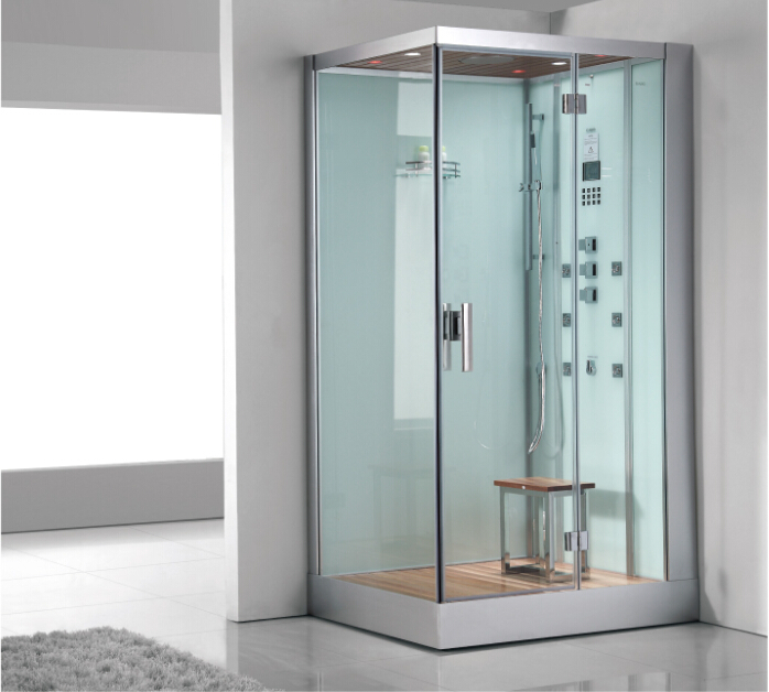 2017 di lusso vapore cabina doccia con vetro temperato pannello ...