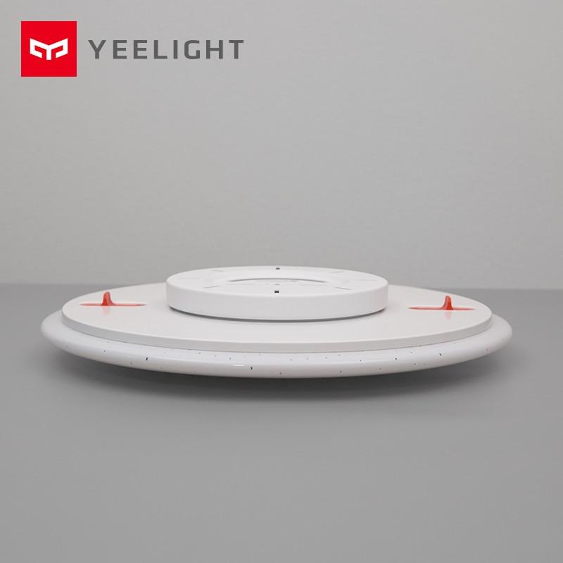 Xiaomi Mijia Yeelight потолочный светильник светодиодный Bluetooth WiFi Пульт дистанционного управления быстрая установка для xiaom Mi home приложение умный дом Комплект - 4