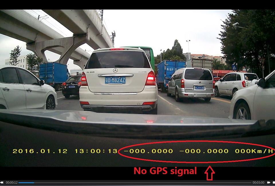 No GPS signal