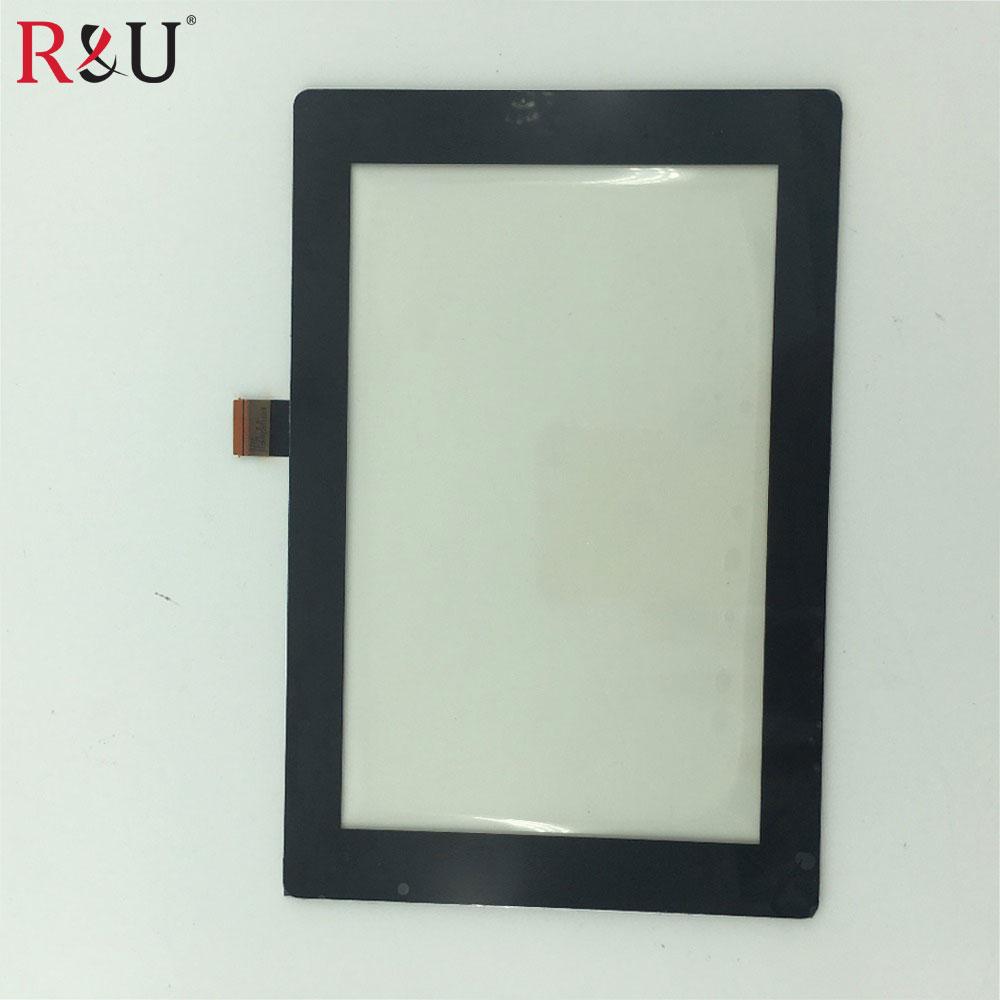 R & U Новый Высокое качество 7-дюймовый спереди Сенсорный экран Панель внешнее стекло Сенсор объектив Запасные части для Amazon Kindle Fire HD7 2013