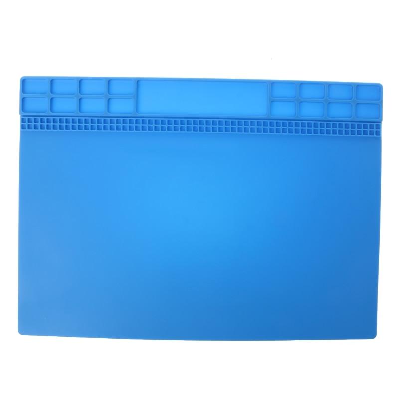 Heat-resistant Soldering Station Mat Silicone BGA Insulation Pad Repair Tool Maintenance Platform t22