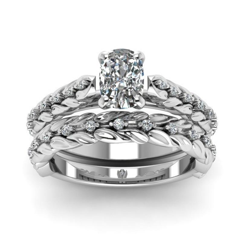 New Real 14K Gold Diamond Wedding Ring Anillos De Jewelry For Women Bague Etoile Bizuteria Party Peridot Diamant Fashion Ring
