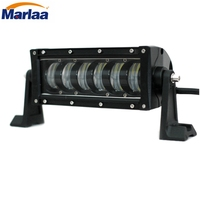 Marlaa LED Light Bar 10 Inch Single Row 48W LED Work Light Spot LED Lights Led
