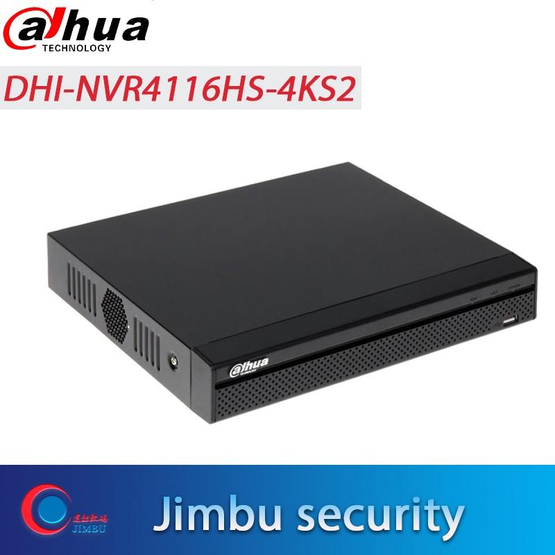 DAHUA 16Ch NVR NVR4116HS 4KS2 1U 4K H 265 Lite onvif nvr Video Recorder H 265