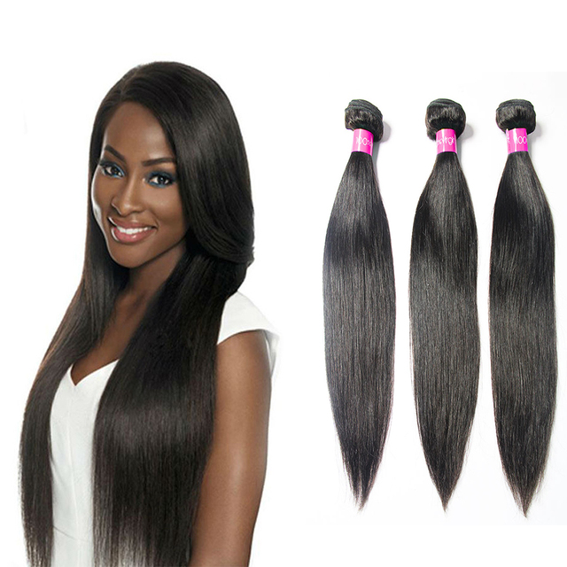 3 Bundles Brazilian Virgin Hair Straight remy Hair Products Unprocessed Brazilian Straight Virgin Hair Human Hair Extensions