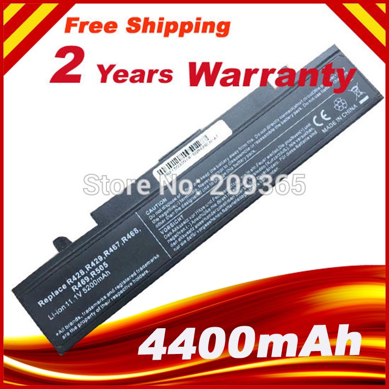 High Quality NEW 6 CELL Laptop Battery For Laptop R468 R458 R505 R522 Q322 R580 AA