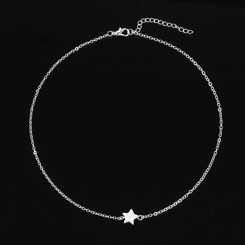 Fashion-Natural-White-Star-Star-Necklace-Jewelry-Women-Necklace-Pendant-On-The-Neck-Colar-XL481 (1)