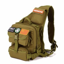 Un Hombro al aire libre Táctico Militar Del Morral Que Acampa Viajar Senderismo Trekking Bag