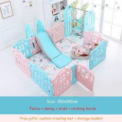Kinder Baby Zaun Spielplatz Indoor Family Amusement Park Baby Kleinkind Zaun Sicherheit Laufstall für Baby Barriere De Securite Enfant