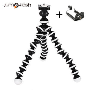 Jumpflash Octopus Mini Tripod Bracket Portable Flexible Smartphone Clip Holder