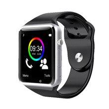A1 2016 Frauen Armbanduhr Bluetooth Smart Uhr Android Sport Pedometer Mit SIM Slot Kamera Smartwatch Für Android ios pk GT08