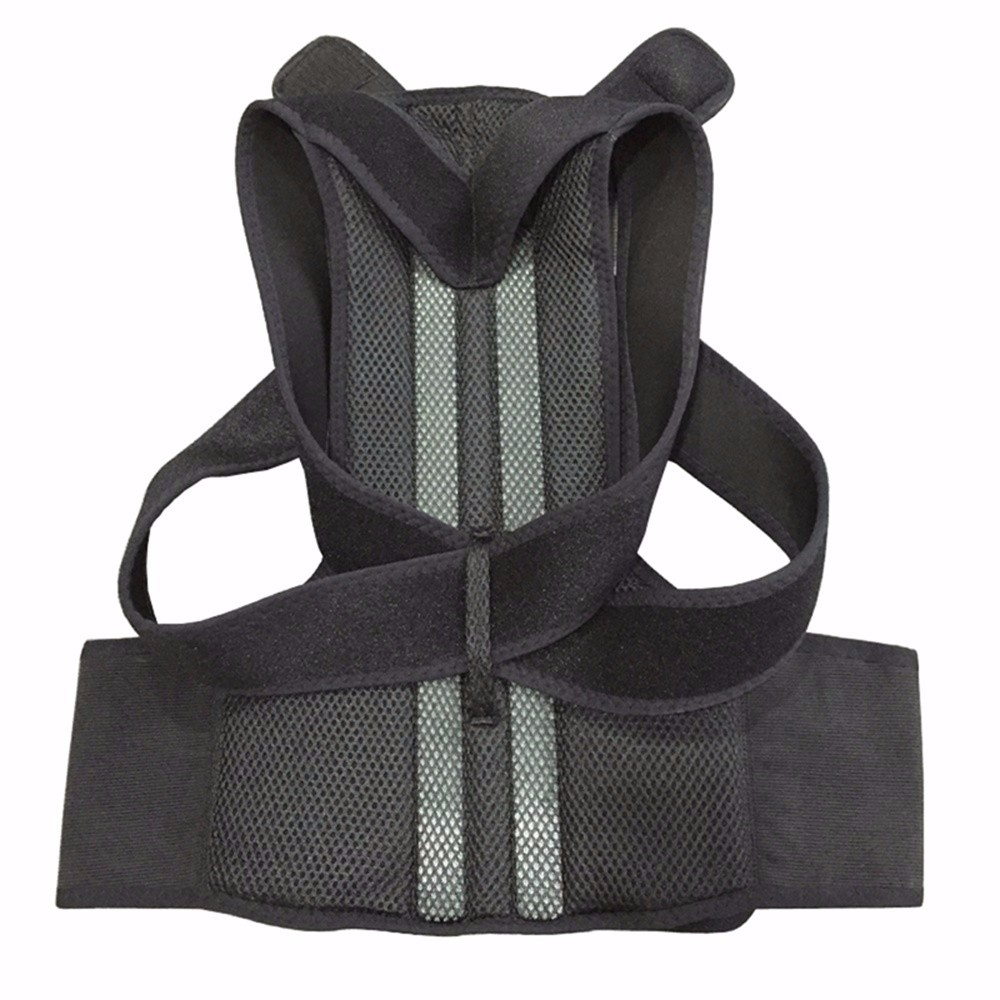 Aofeite  B003 orthopedic belt for back back posture Belt Round Shoulder Back Brace adjustable posture corrector men 3