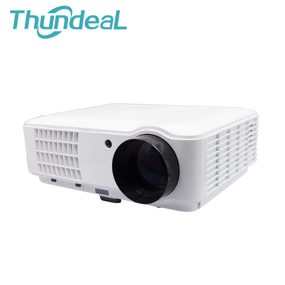 NEW Arrive 2600lumens 1280*800 HD 1080P LED 3D Projector Home Theater RD-804 projektor beamer 2HDMI 2USB TV AV