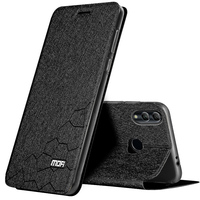 Mofi Voor Huawei Honor 10 Lite Case Honor 10 Cover Leather Flip Slim Book Cover Stand Siliconen Case Voor Huawei honor V10 Shell-in Flipcases van Mobiele telefoons & telecommunicatie op