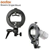 Godox S Type Flash Bracket Bowens S Mount Holder For Speedlite Softbox Snoot