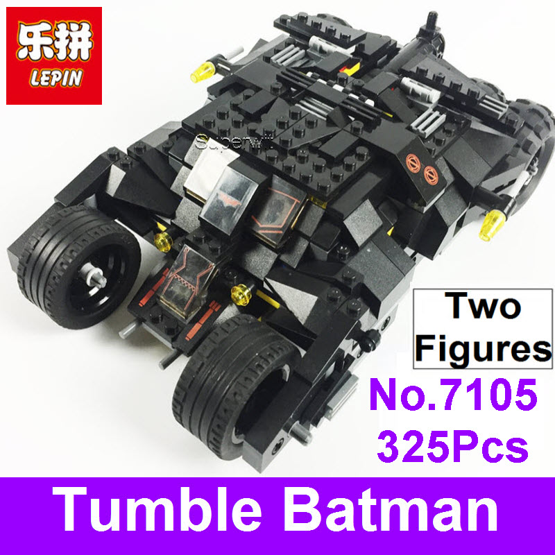 LEPIN Bricks 7105 Tumbler Batman Bat Star Series Building Blocks Compatible Decool Super Heroes Batman Toys Batmobile For Boys 8 in 1 military ship building blocks toys for boys
