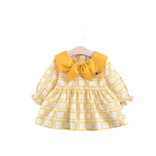 MrY Dresses Baby Girl Clothing Plaid Girls Dress Long Sleeve Children Cotton Girls Clothes Vestidos Kids  Little Girls Dresses miss haiwo fall kids dresses for girls pure cotton baby girl clothes stripes rainbow color girls long dress children s clothing
