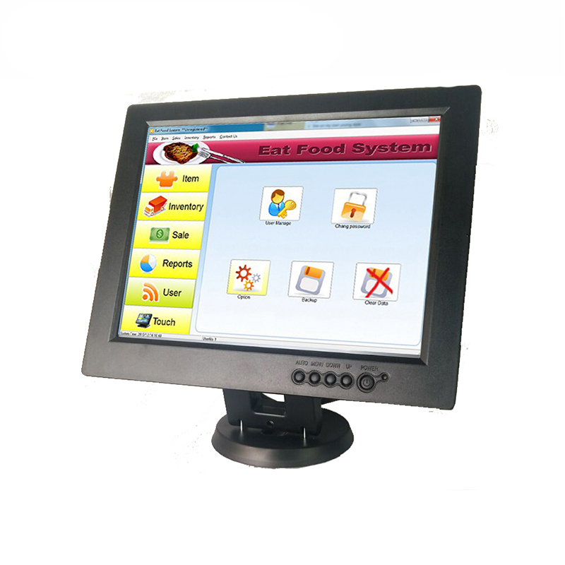 12inch LED Touch Screen POS System POS machine for retail shop TM1201 free shipping pos system 15 inch windows touch screen retail shop equipment epos machine black and white color options