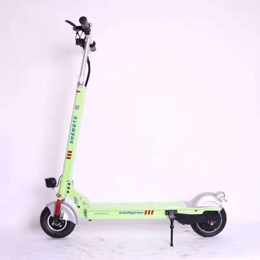 2017 Shengte 36V 18.4A Two Wheel Electric Scooter colorful new E-bike 36v 18 8a powerful two wheel mini folding electric scooter lithium e bike