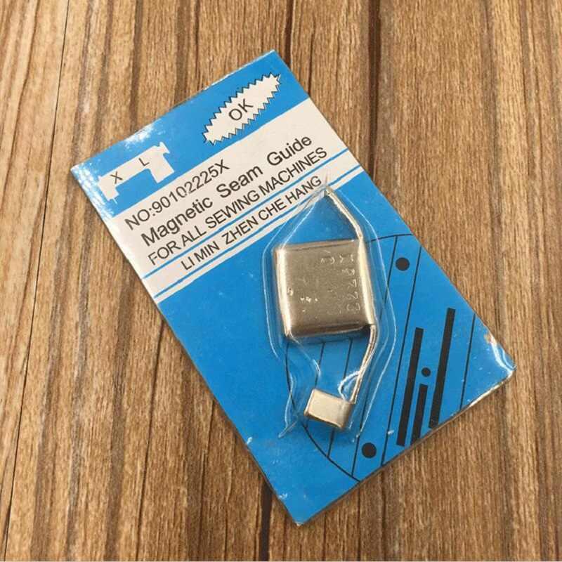 Baru 1 Pcs/lot Universal Magnetic Jahitan Panduan Tekan Kaki untuk Mesin Jahit Kerajinan Diy Kaki Bagian Alat Rumah Tangga