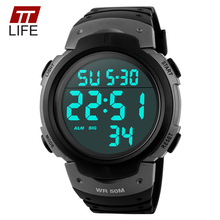 TTLIFE Mens Watches Digital Sports Dive 50m Military Watch Men Fashion Casual LED Electronics Wrist Watches Clock Luxury Branded